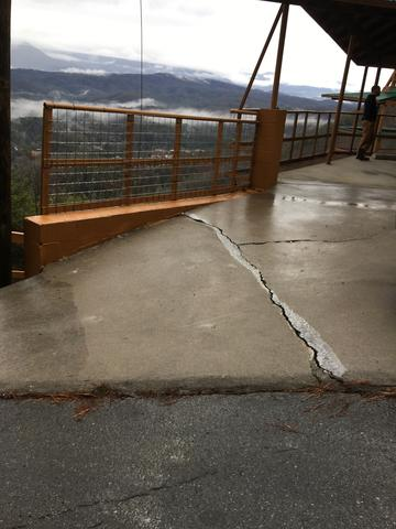 Leveling a Concrete Slab with PolyLyft in Pigeon Forge, TN