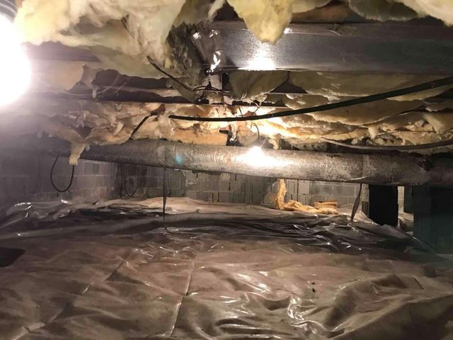 Repairing a Crawlspace in Signal Mountain, TN