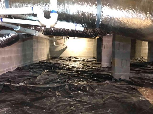 Encapsulating a Crawlspace in Tellico Plains, TN