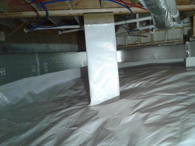 Encapsulating a Crawlspace in Robbins, TN