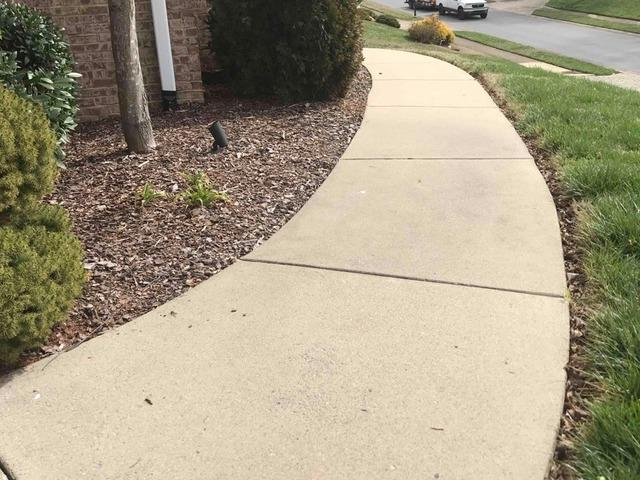 Raising a Sidewalk in Johnson City, TN