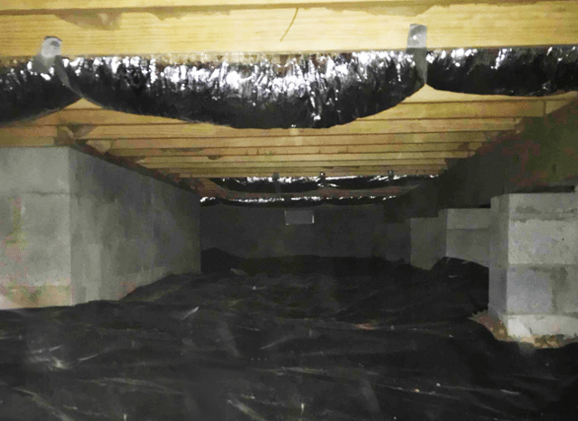Repairing and Encapsulating a Crawlspace in Loudon, TN