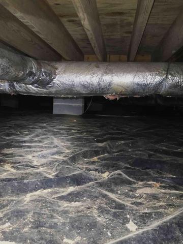 Repairing a Crawlspace in Dandridge, TN