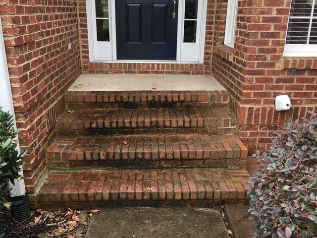 Raising Front Steps with PolyLyft in Lenoir City, TN