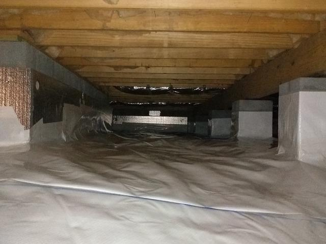 Fixing a Dingy Crawlspace in Loudon, TN