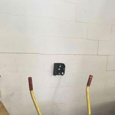 Repairing a Bowed Wall in Maryville, TN