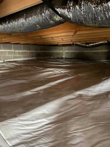 Rehabbing a Crawlspace in Madisonville, TN