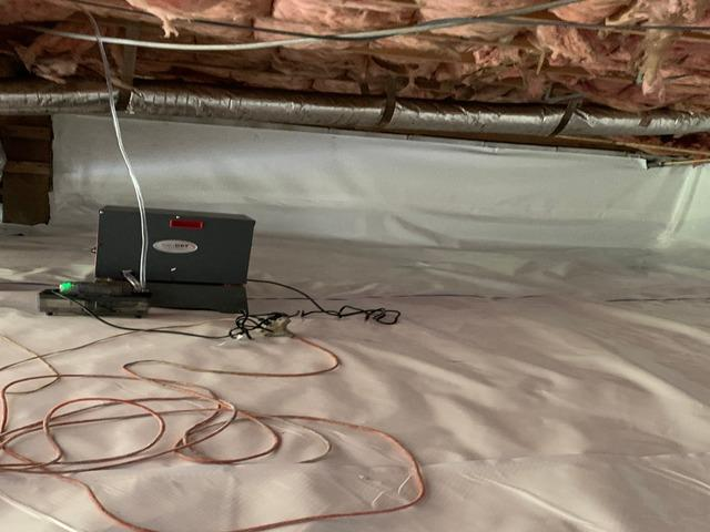 Rescuing a Georgetown, TN Crawlspace from Mold and Mustiness