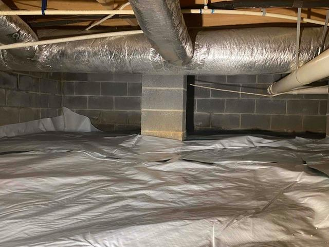 Installing Our Durable Crawlspace Liner in Seymour, TN