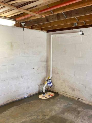 Bristol, TN Basement Gets Thorough Waterproofing