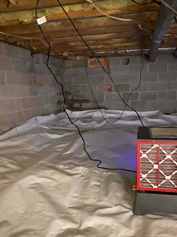 Encapsulating a Crawlspace in Loudon, TN
