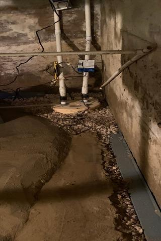 Installing a Sump Pump in Damascus, VA - After Photo