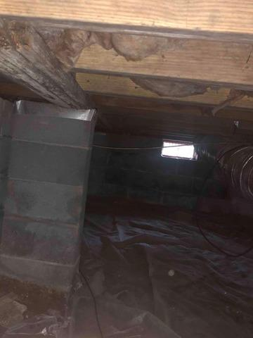 Protecting a Crawlspace from Moisture in Graysville, TN