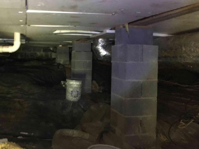 Jasper, TN Crawlspace Gets a New Vapor Barrier System