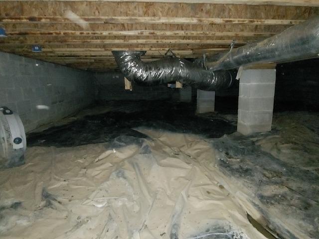 Our CleanSpace Encapsulation System Transforms a Tellico Plains, TN Crawlspace