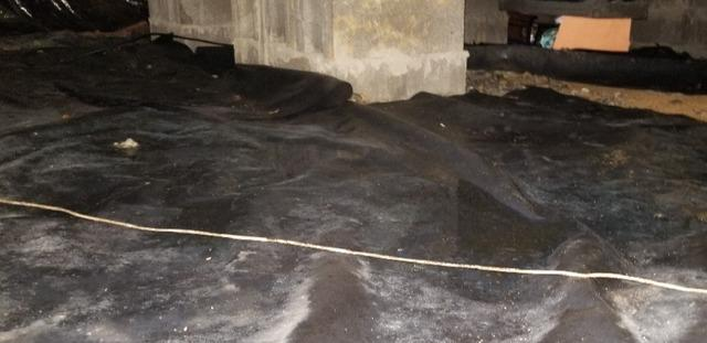 Transforming a Wet Crawlspace Near Collegedale, TN