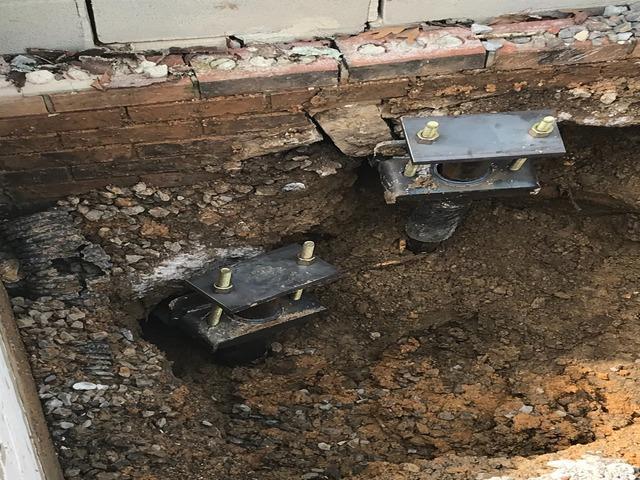 Fixing a Settling Foundation Near Bakewell, TN