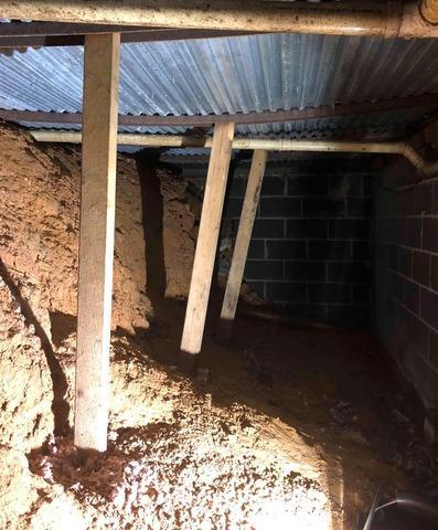 Transforming a Dank, Unprotected Crawlspace Near Appalachia, VA