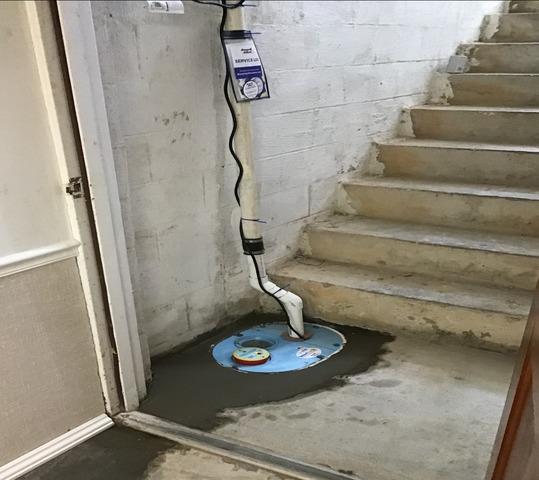 Home Near Mendota, VA Gets a Sump Pump System