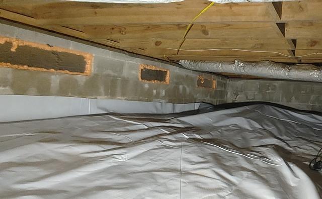 Installing Vapor Barrier in Smyrna, GA