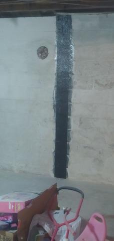 Stabilizing Walls in a Basement Near Honaker, VA