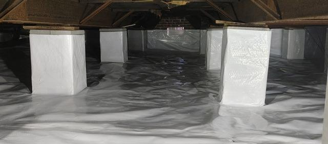 Encapsulating a Crawlspace Near Clinchco, VA - After Photo