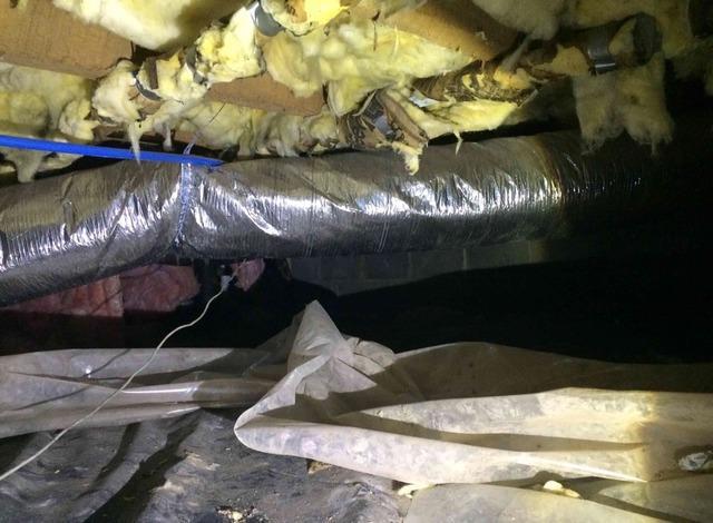 Encapsulating a Crawlspace Near Whitleyville, TN
