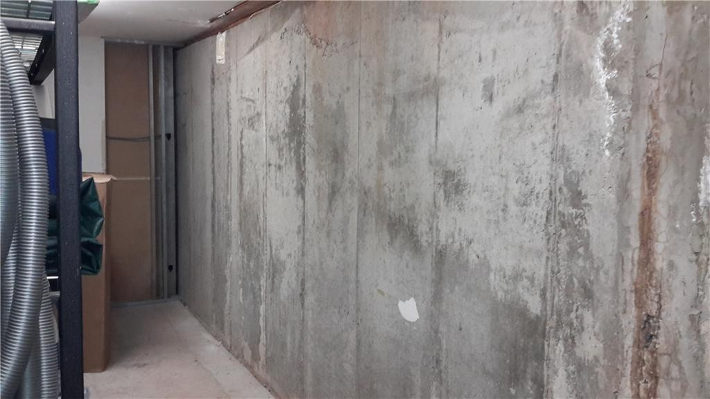 New Basement Wall Panels Installed in Staten Island, NY - Before Photo