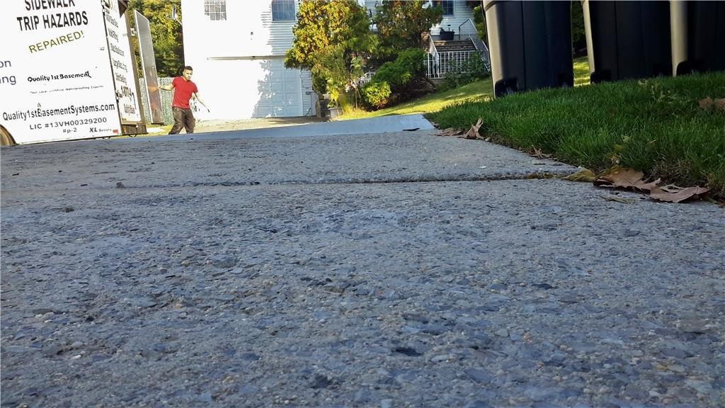 Sidewalk Leveled in Staten Island, NY - After Photo