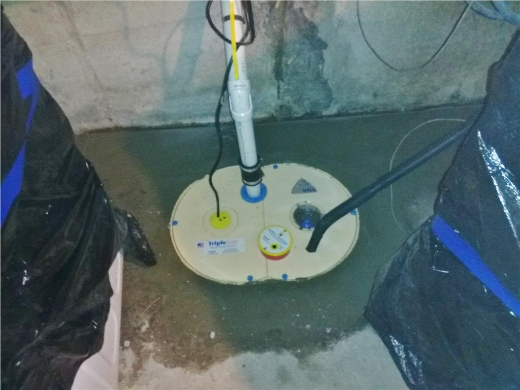 Sump Pump Replaced in Staten Island, NY - After Photo