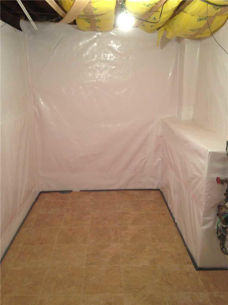 New York City Basement Waterproofing and Flooring - After Photo