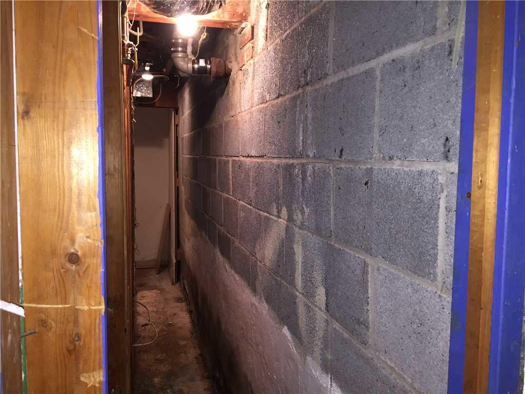 Foundation Stabilized and Reinforced in Queens, NY - Before Photo