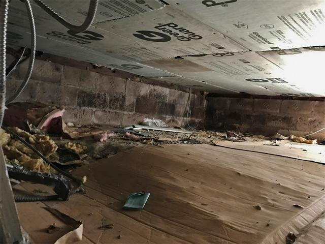 Cold Crawl Space is Insulated in Staten Island, NY