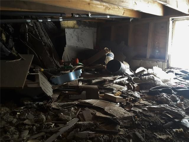 Sagging Crawl Space Beams are Supported in Rosedale, NY