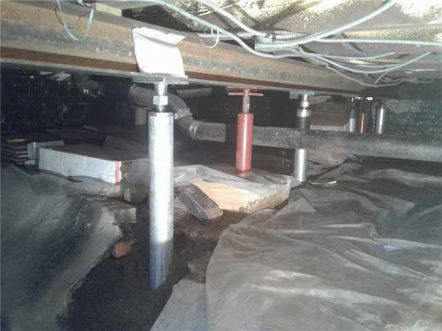 Sagging Floors Above Crawl Space Fixed by Quality 1st