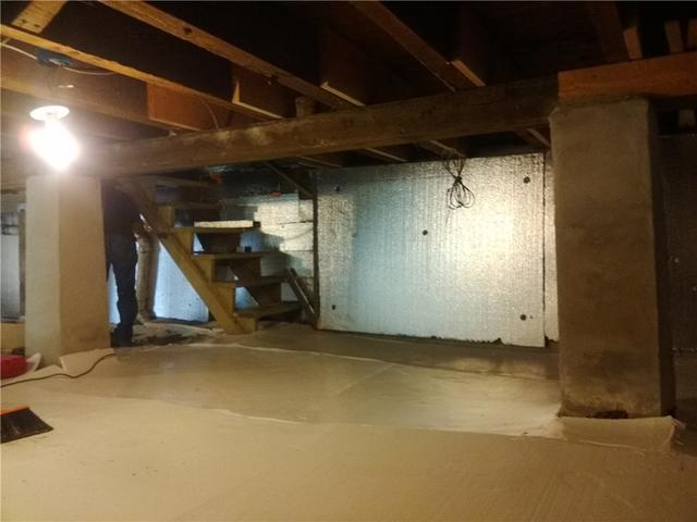 Crawl Space Insulation in West New York, NJ