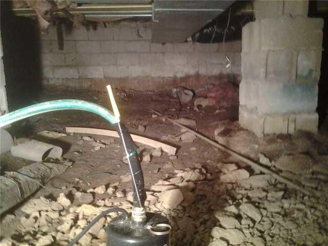 Dirt Floor Crawl Space Causing Cold Air in Staten Island Home