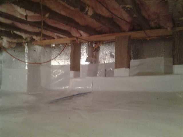Crawl Space Vapor Barrier in Middle Village, Queens NY