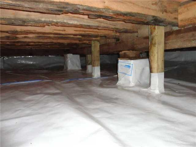 Crawl Space Encapsulation System in Staten Island, NY - After Photo
