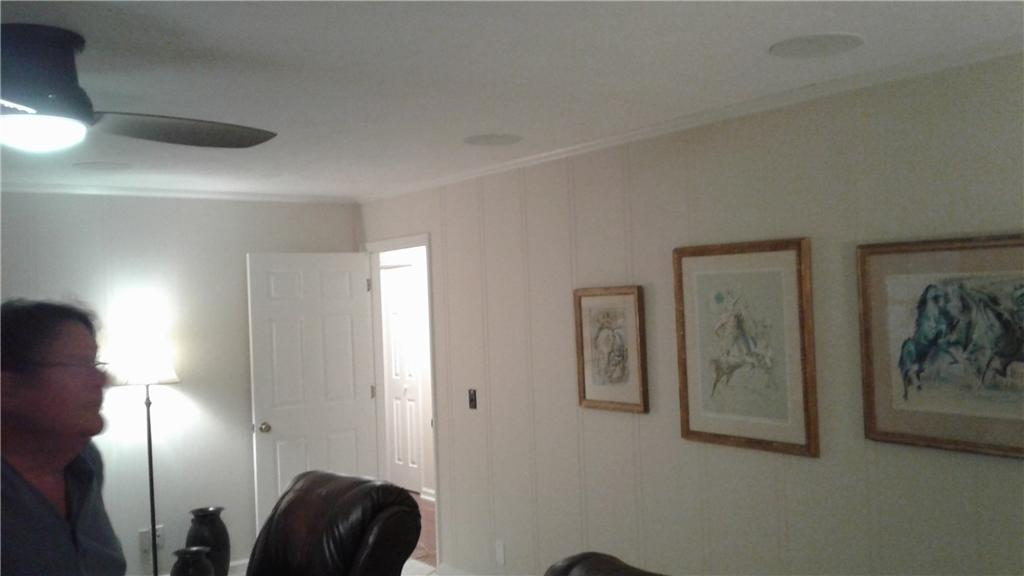 Crown Moulding and Drywall Separation in Glen St. Mary, FL - After Photo