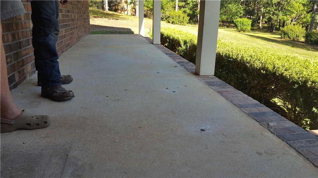 Front Porch PolyLevel Repair in Molino, Fl. - After Photo