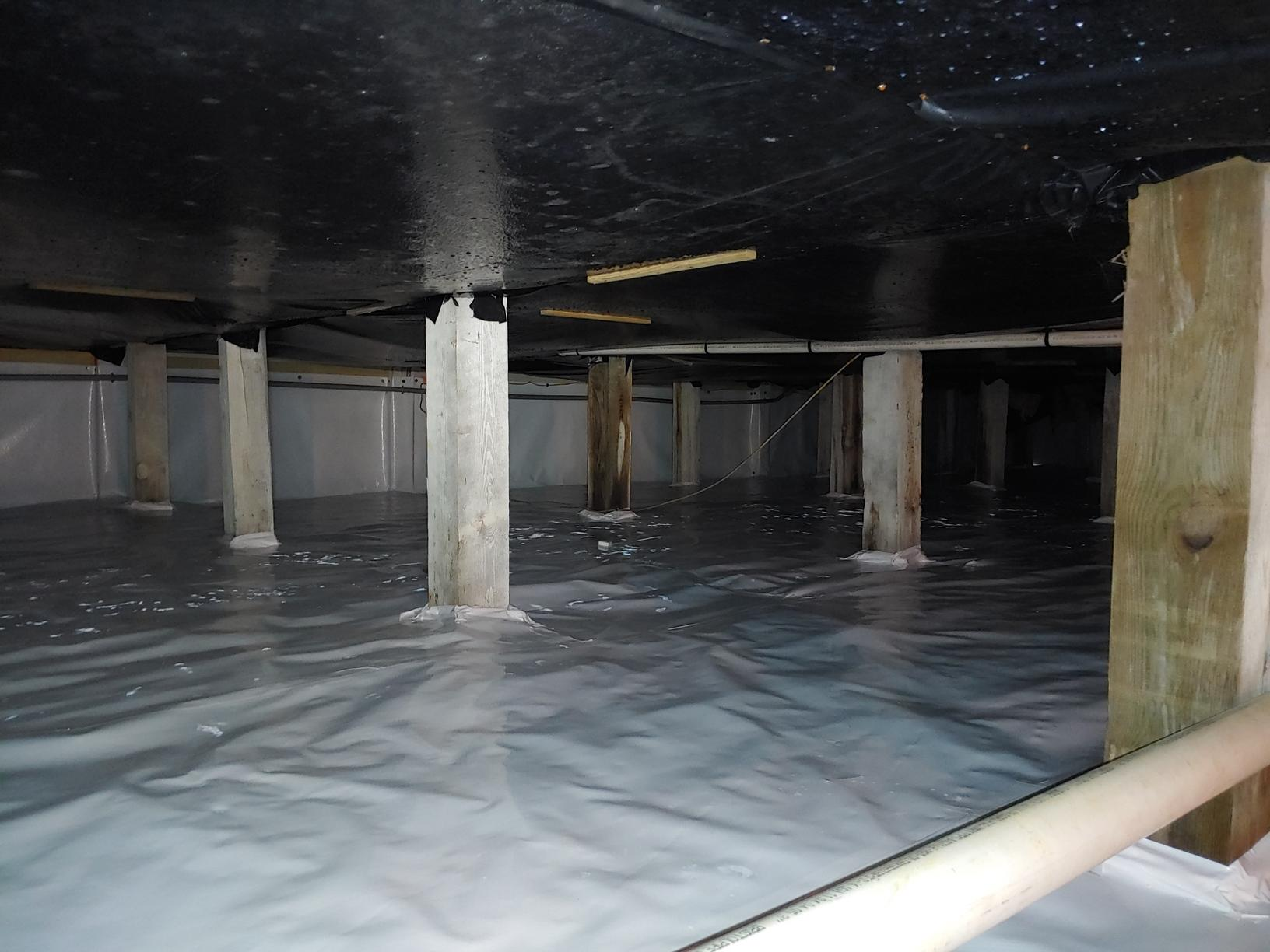 Cleanspace Encapsulation in Malone, FL - After Photo