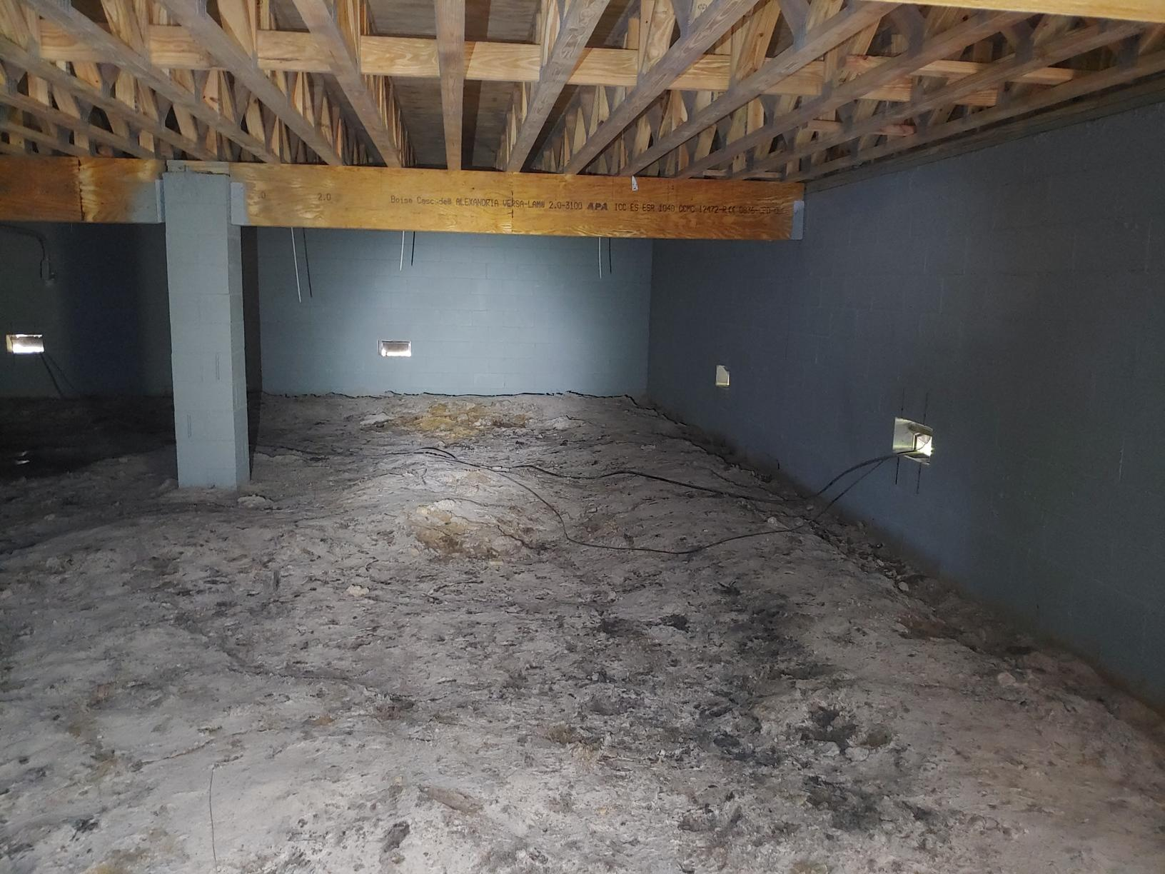 Crawlspace Encapsulation in Tallahassee, FL - Before Photo