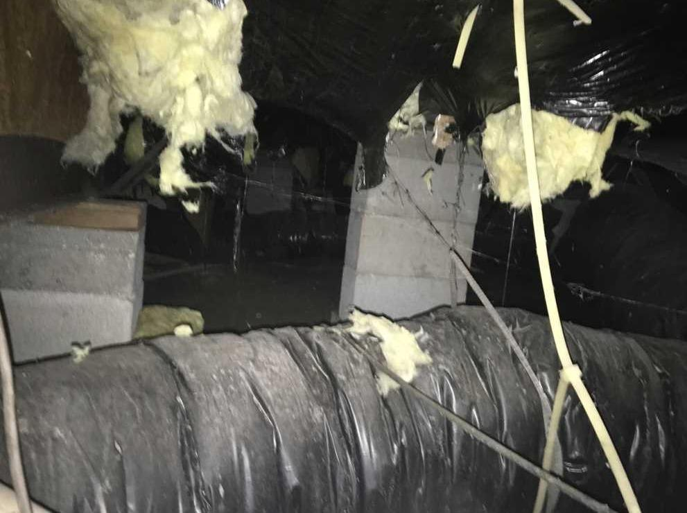 Crawlspace Repair in Indiantown, FL - Before Photo