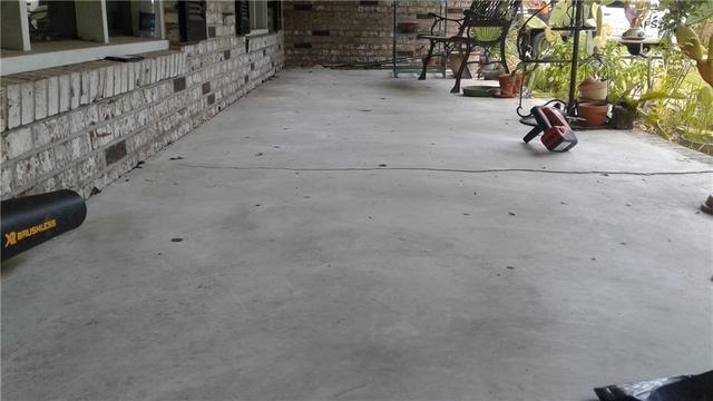Raising Back Porch Slab in Jacksonville, FL