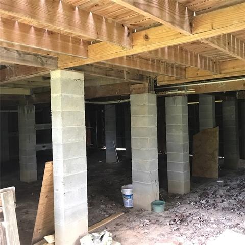 Fish Camp Foundation Stabilization in Wewahitchka, FL