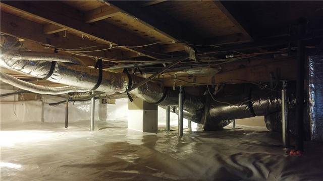 Crawlspace Encapsulation in Sopchoppy, Fl