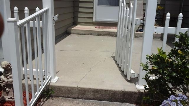 Front Porch Repair with PolyLevel in Elkton, Fl.