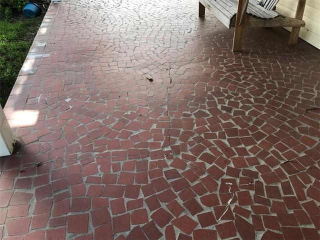 Front Porch PolyLevel Repair in Malone, Fl.
