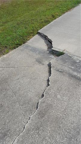 Driveway PolyLevel Repair in Navarre, Fl.